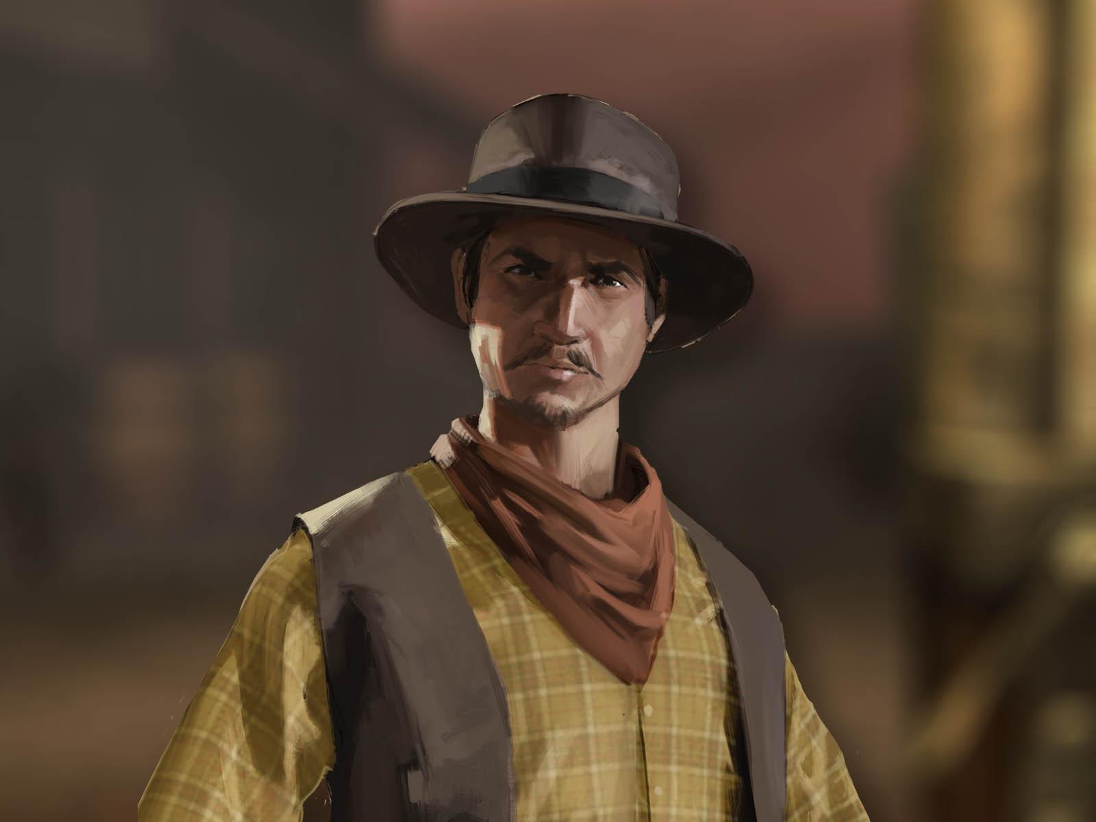 Bounty Hunt Western Duel Game